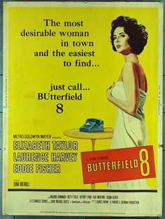Elizabeth Taylor Movie Posters - Butterfield 8 Movie Poster