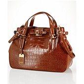 Lauren Ralph Lauren Handbag, Lanesborough Belted Satchel