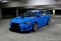 "Exclusive look at the 400+ horsepower 2013 Mitsubishi EVO used in ""Furious 7"""