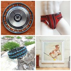 The Picture Garden: Austrian Etsy Gift Ideas . for manly men! Wood Watch, Gift Ideas, Garden, Gifts, Pictures, Etsy, Men, Wooden Clock, Garten