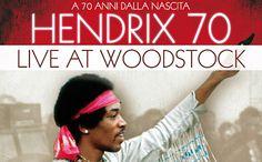"""In occasione dell'anniversario che vedrebbe Jimi Hendrix compiere i suoi 70 anni, Nexo Digital è orgogliosa di annunciare l'arrivo nelle sale italiane di """"HENDRIX 70. LIVE AT WOODSTOCK"""", il film che vede protagonista colui che nel 2011 la rivista Rolling Stone ha eletto a furor di popolo come """"il più grande chitarrista di tutti i tempi"""" davanti ad Eric Clapton e Jimmy Page."""