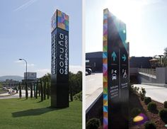 The Style Outlet, Wayfinding (Mayúscula brands) by Lucia Pigliapochi, via Behance