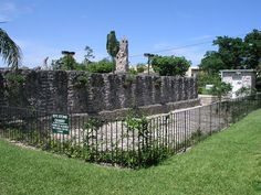 "Edward Leedskalnin's Quarry at the Coral Castle. The wall on the South side was pulled from here, and is also where the famous ""Tripod"" pictures were taken by Ed himself with a self timer Box Brownie camera."