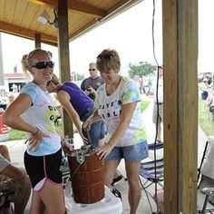 A classic Delaware State Fair favorite, the Homemade Ice Cream Making Contest!