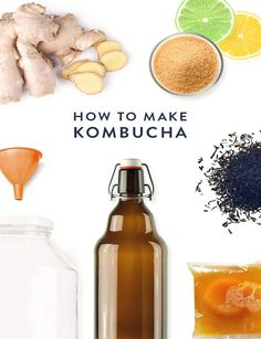 Here's everything you need to know about the naturally carbonated, fermented tea everyone's talking #Kombucha #spon