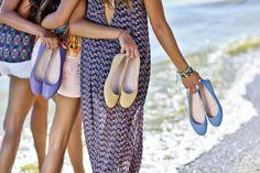 La tendencia de los zapatos planos continúa