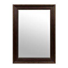 $39.98. Kirklands. Bronze Matte Framed Mirror, 32x44