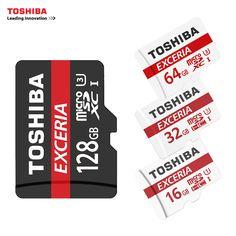 TOSHIBA U3 Memory Card 128GB 64GB SDXC Max UP 90MB/s Micro SD Card SDHC-I 32GB 16G U1 Class10  Official Verification //Price: $11.69//     #storecharger