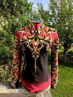 Show Couture by Melissa Ilic #horseshow #horse #show #westernpleasure #western #pleasure #showmanship #horsemanship #shirt #jacket #outfit #worldchampion #trail #vest #pretty