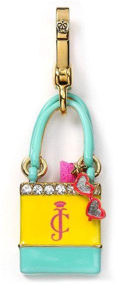 Juicy Couture Beach Bag Charm @Linda Helm so cute!