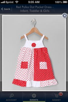 Valentines dress for a little girl