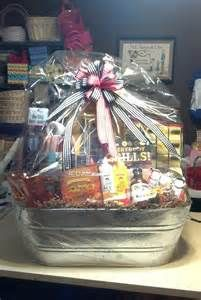 My brilliant idea for the year use a clear shower curtain liner to custom bbq gift basket for silent auction charity fundraiser negle Image collections