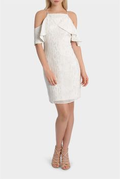 found this via @myer_mystore Fashion Ideas, Cold Shoulder Dress, Shopping, Dresses, Gowns, Dress, Day Dresses, Clothing, The Dress