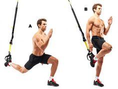 The top 10 TRX exercises - Men's Health Io avrei Inserito anche Atomic Push Ups, Pikes, sprinter's Start, BodySaw,Suspended Incline Press