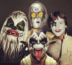 Star Wars Kiss:  I . . . wanna use the Force all night, and party every day!