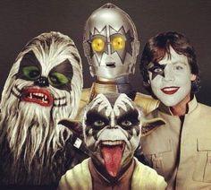 Star Wars Kiss.