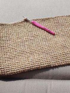 Straw Bag, Knit Crochet, Creations, Reusable Tote Bags, Knitting, Crafts, Color, Bikini, Crochet Purses