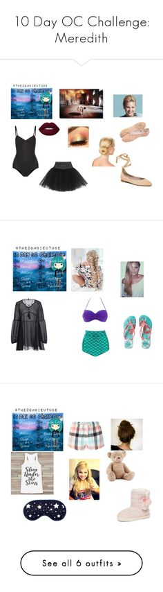 """""""10 Day OC Challenge: Meredith"""" by roleplayqueen-325 ❤ liked on Polyvore featuring Ballet Beautiful, Bloch, Havaianas, Ultimate, Dorothy Perkins, Jellycat, Catherine & Jean, adidas, Athletic Propulsion Labs and Phase Eight"""