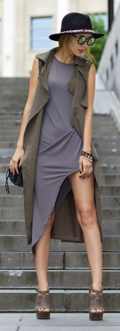 New Dress sleeveless cardigan - Elite99 dress - New Dress sunnies - Forever 21 shoes - New Look satchel - Zara hat