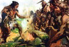 magic-rites-upper-paleolithic-zdenek-burian.jpg (3618×2484)