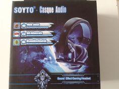 Syoto Casque AUDIO/GAMING