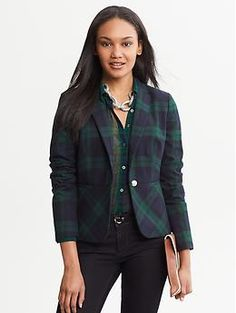 @Commandress Fashion Flashback - fall's new plaids for professionals