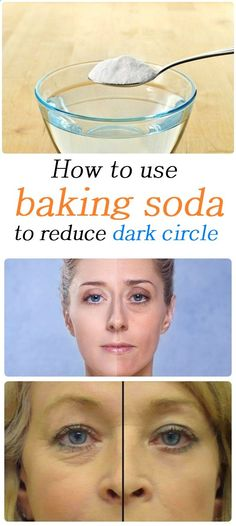 How to use baking soda to reduce dark circle