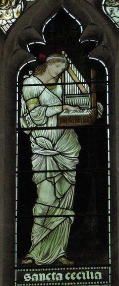 St. Cecilia, Patron Saint of Music