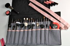 Reserved For lizamcd7  Makeup Brush Roll  30 SLOTS by ShoppingGals, $44.95 NEED THIS!