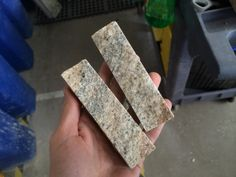 Step 6: Each Recycled Granite Split Stone is hand packed in 5 square foot boxes. This allows us to sort by colors. Since we deal with only scrap pieces, sorting by granite names is not plausible. We sort by; Whites, Creams, Copper, Browns, Gray, Black, Green, Wines, Rust and Blue. A&E Recycled Granite, LLC