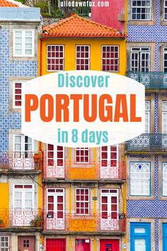 Discover amazing Portugal, one of the most beautiful countries in Europe, on this carefully chosen, fully managed 8 day itinerary. Take in incredibly diverse landscapes and spectacular architecture on hand-picked guided tours. Sample delicious Portuguese food and wine, then chill out in hand-picked 4 and 5 star hotels. A trip for your bucket list! #Europetravel #Europeandestinations #Portugaltravel #Portugalitinerary #Portugaltour