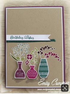 Tiny Kiwi Cards: Display Stamper OnStage Auckland 2018 - New Catalogue sneak peeks Card Making Inspiration, Making Ideas, Hand Stamped Cards, Stampin Up Catalog, Stamping Up Cards, Scrapbooking, Paper Cards, Flower Cards, Homemade Cards