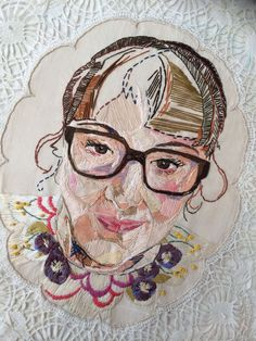 7 Amazing Embroidered Portraits to Inspire Your Stitching
