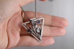 Metalsmith necklace by JoannaWatracz
