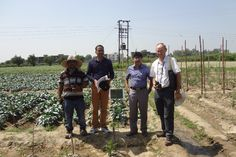 Dr. Lawrence Kenyon & Mr. Samrat Laha from AVRDC-The World Vegetable Centre, Taiwan visited our vegetable R&D farm in Sonepat, Haryana on 18th September to have a glance on the ongoing research activities in different vegetable crops. http://www.nuziveeduseeds.com/visit-of-rd-delegates-from-avrdc-the-world-vegetable-centre-taiwan/
