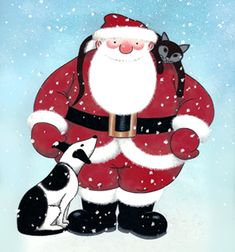 """Raymond Briggs' 'Father Christmas' - the ultimate depiction of Santa to me.  """"Another bloomin' Christmas!"""""""
