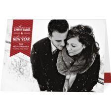 snowy card.