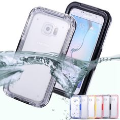 KISSCASE For Samsung S7 Edge IP68 Waterproof Swimming Case For Samsung Galaxy S7 G9300 S7 Edge G9350 Heavy Duty Underwater Cover