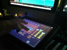 Live improvisation #1 with Jazzmutant Lemur for iPad.