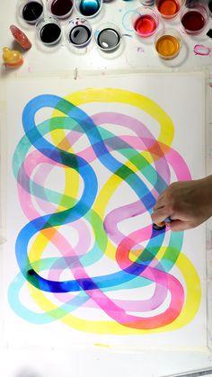 Beautiful Watercolor Layers