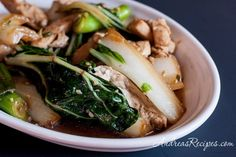 Chicken Bok Choy makes a fast weeknight dinner for Phases 1 and 2 (stir-fry in a little broth) and Phase 3 (use grapeseed oil). Sub tamari for the soy sauce here.