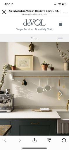 Decor, Devol, Floating Shelves, Furniture, Shelves, Simple Furniture, Cabin Kitchens, Kitchen, Home Decor