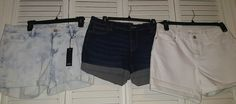New with tags Women's Anna/Stylus Shorts Lot Of 3 Size 10/30  #Stylus #CasualShorts