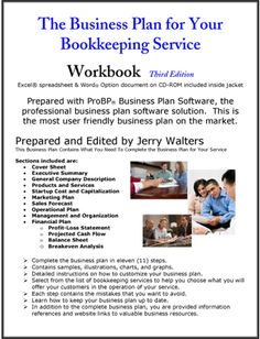Freelance bookkeeping business plan