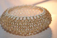 """náramok """"caprichio"""" golden shadow Bangles, Bracelets, Gold, Jewelry, Fashion, Jewlery, Moda, Jewels, La Mode"""
