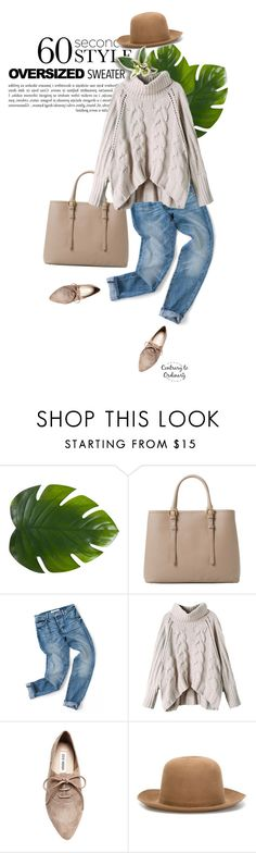 """""""Untitled #1489"""" by contrary-to-ordinary ❤ liked on Polyvore featuring Zara Home, MANGO, Steve Madden, ISABEL BENENATO and sweaterweather"""