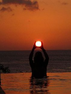 Guam, Mariana Islands: catching the sun