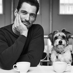 Male Model Names, Male Models, David Gandy, Most Beautiful Man, Gorgeous Men, White Style, Black And White, Men Photography, Good Looking Men