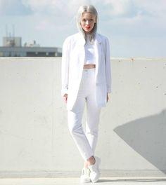 O poder do blazer branco - Moda it