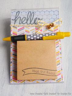 diy-post it note holder-gift idea-scrapbooking-papercreative rox-craft asylum-by AnnaDrai cafecreativo